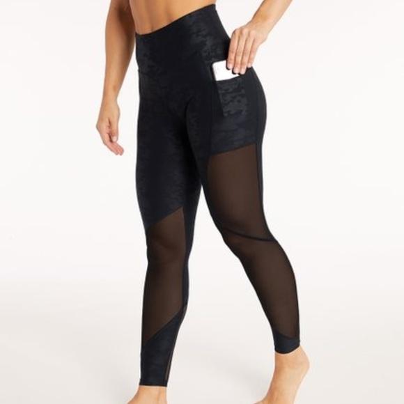 47f1f07495acd9 Bally Total Fitness Pants | High Waist Leggings Wpockets Mesh | Poshmark